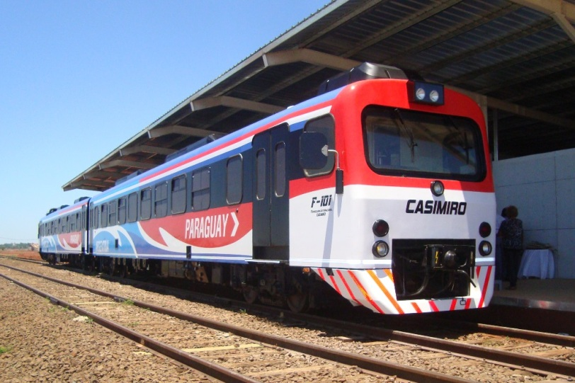 Tren internacional entre Itapúa y Misiones (foto ilustrativa tomada de Internet)