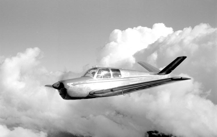 El Beechcraft Bonanza, avión similar al que usó el Ejército Paraguayo (Foto ilustrativa de Internet).
