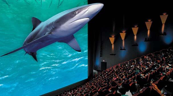 La tecnología Imax 3D Digital, la más moderna de mundo, llega a la región (imagen temática tomada de Internet).