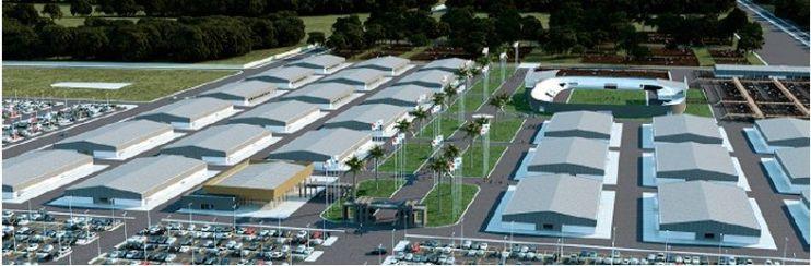 Maqueta del megaproyecto presentado en Asunción (imagen de internet).