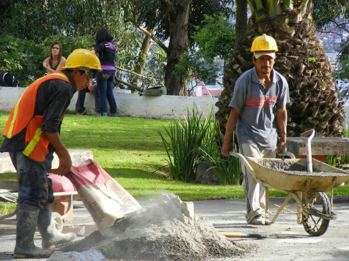 El 40 por ciento de los hombres paraguayos en Buenos aires trabajan en la construcción (foto ilustrativa de Internet).