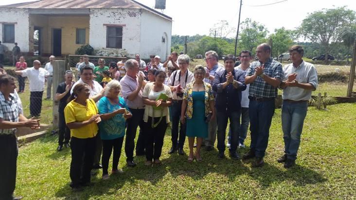 Las autoridades de ambas ciudades dejan habilitado el primer viaje de integración (Foto Facebook).
