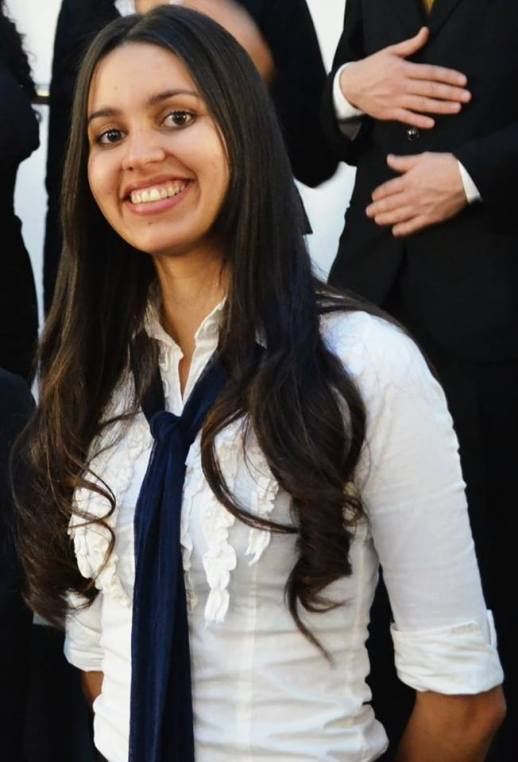 Keila Galarza Zinke diseñó una aplicación para el transporte de pasajeros de Paraguay.